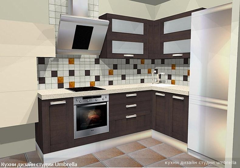 Бесплатный интерьер кухни